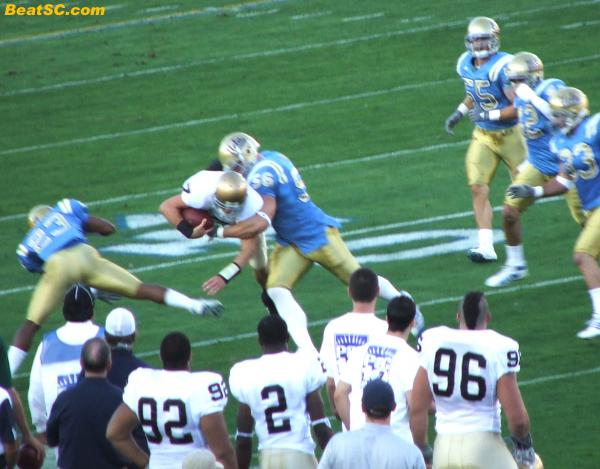 Clausen was mobile, but he was no Jake Locker.